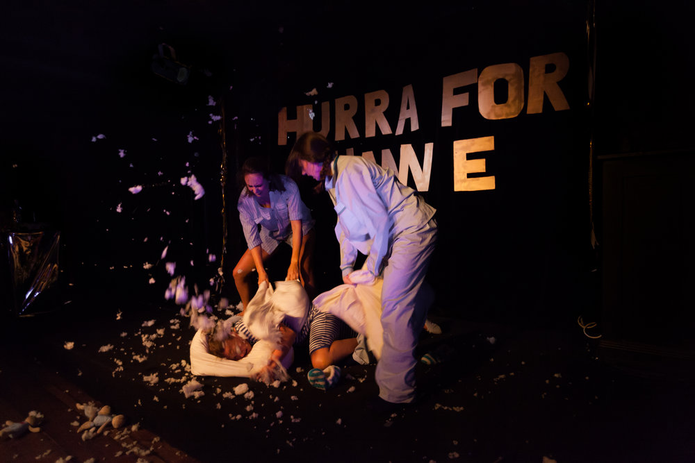 "09.02.2016  ""Hurra for Hanne"" playing at Teaterkjelleren 9- 10th of February"