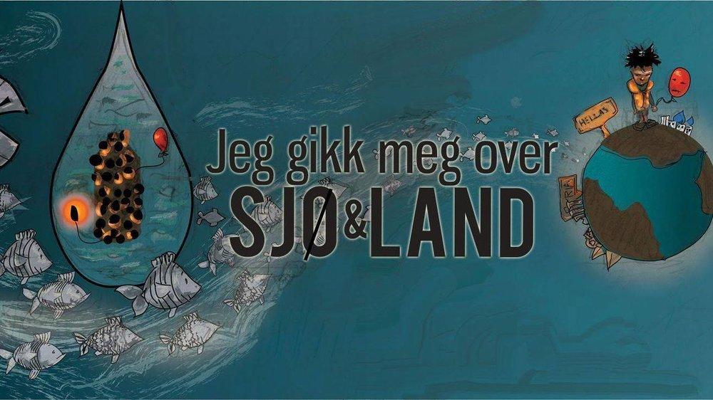 """Teater Leikhus starter nytt samarbeidsprosjekt med skaperen av boka """"jeg gikk meg over sjø og land"""", Tina Tsiplakis og Mangfold Forlag."""