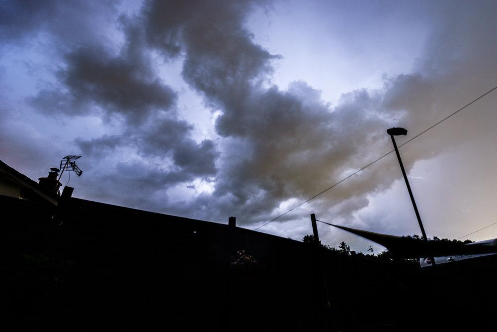 Storm Clouds over Corfe Mullen