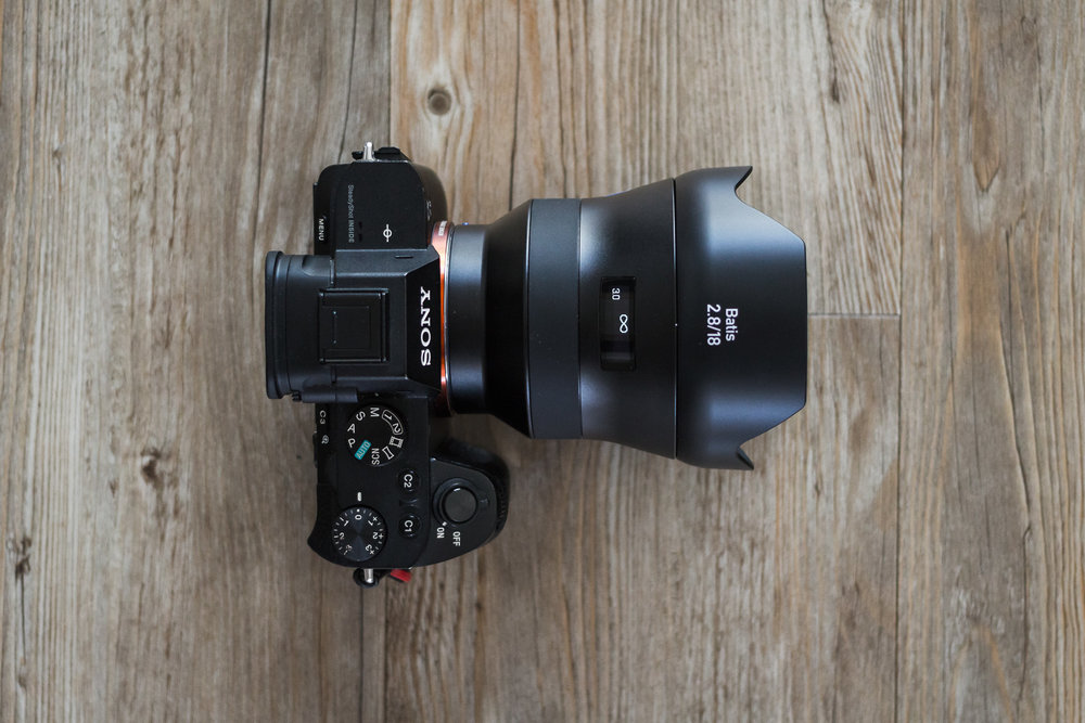 The Batis 18mm is moisture and dust resistant, and utilises a popular filter thread size of 77mm