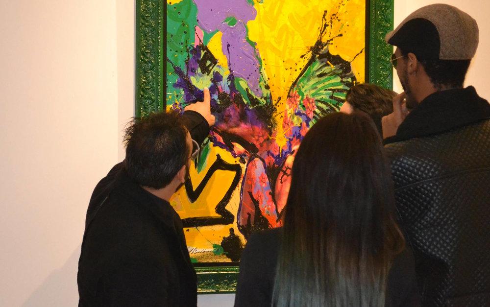 VERNISSAGE MONANC - Galerie Golan Rouzkhosh