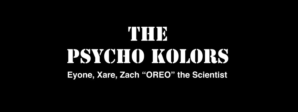 THE PSYCHO KOLORS - DU 7 AU 18 FEVRIER 2017