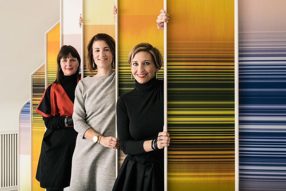 Von links nach rechts: Evelyne Roth, Priska Gätzi, Mirjam Matti Gähwiler