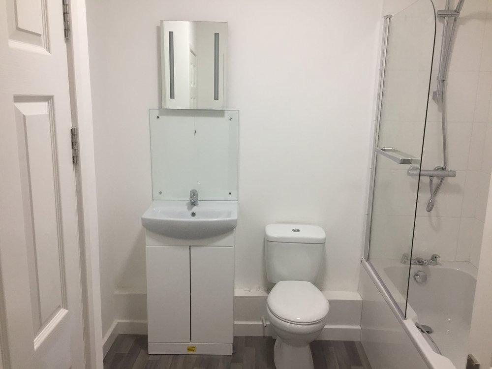 Stylish, spacious family bathrooms
