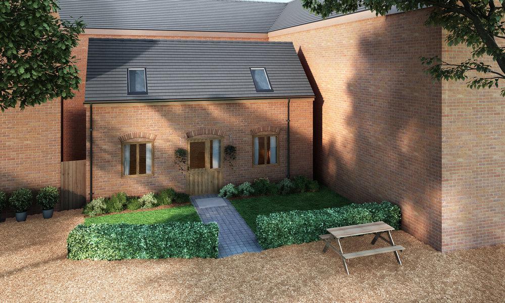 The Mews House, Banbury, Oxfordshire. [CGI]