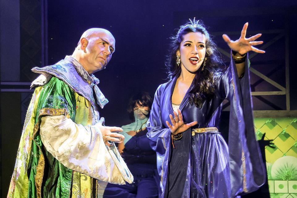Jo Shah in Aladdin