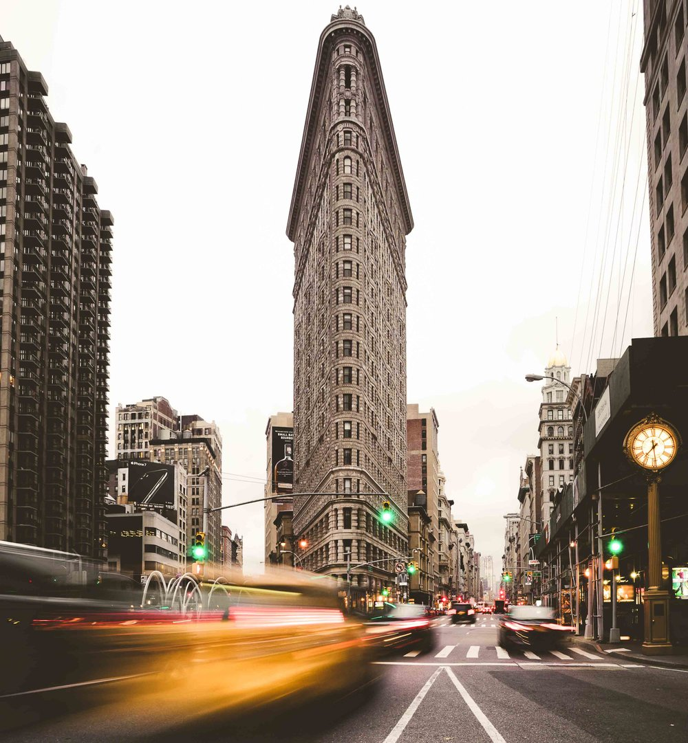 Flatiron Building, New York   When in New York... the picture must be taken.
