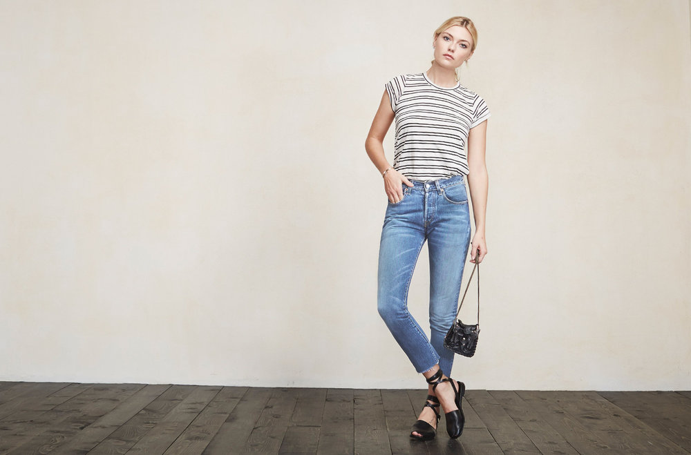 Reformation Vintage Cropped Jeans