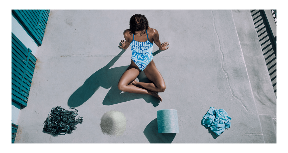 Adidas swimwear collection made with  Econyl® yarn