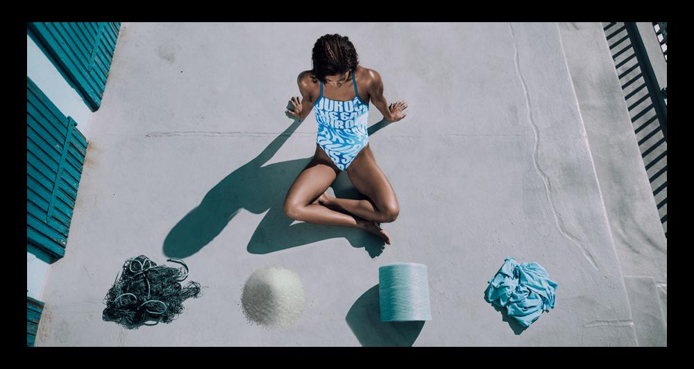 Adidas swimwear collection made with  Econyl® yarn