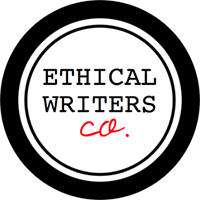 A member of the Ethical Writers Coalition