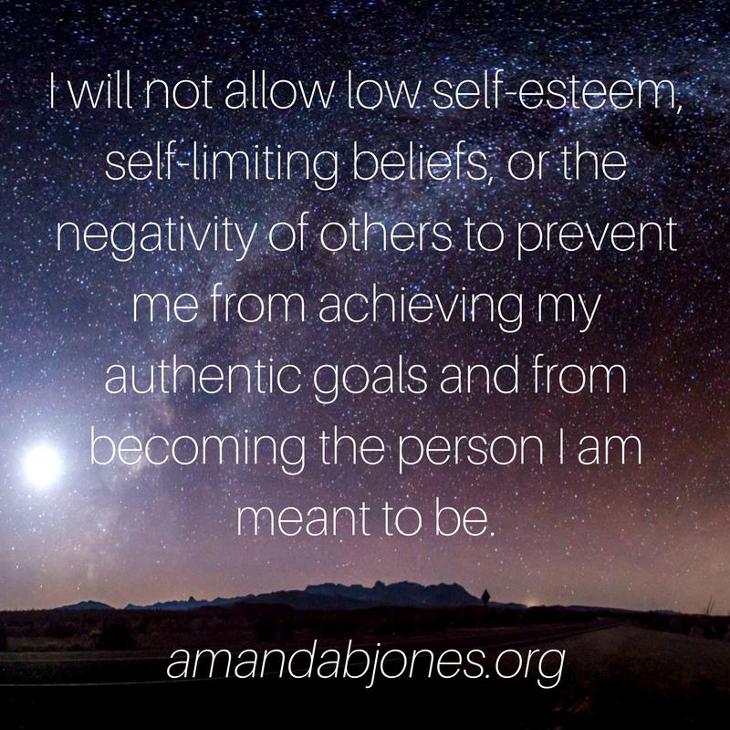 limiting beliefs amanda jones meditation mindfulness