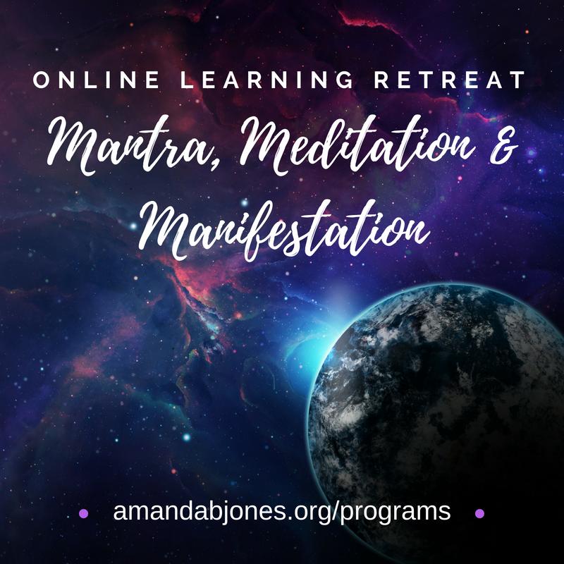 amanda jones meditation mantra manifestation