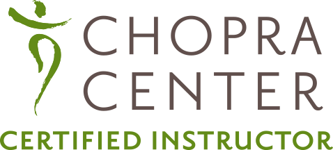 Chopra-certified Primodial Sound Meditation Instructor