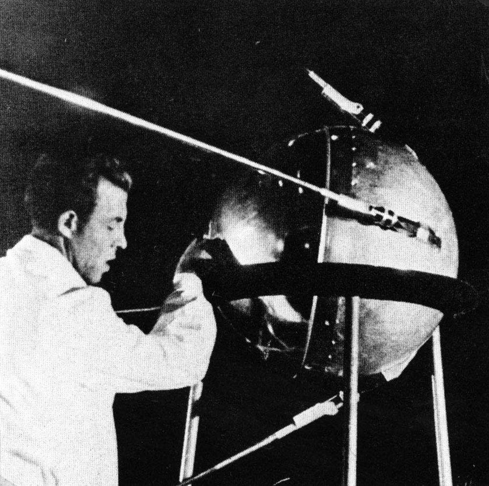 4 octobre 1957, lancement du Spoutnik 1