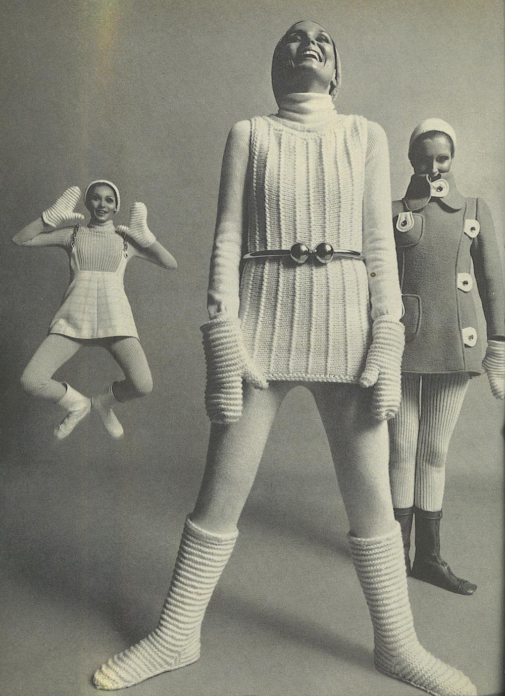 Courrèges, Harper's Bazaar septembre 1968