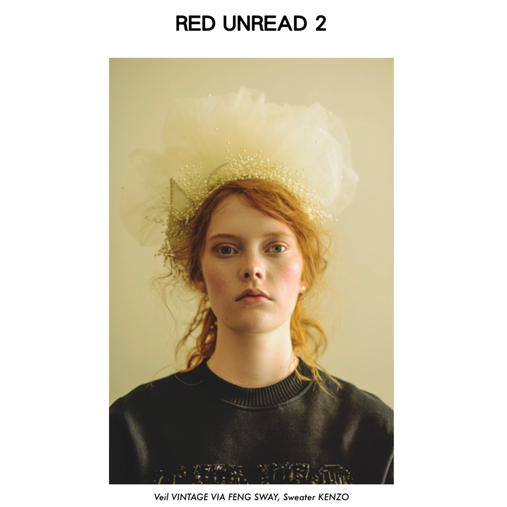 Material Magazine , Red Unread