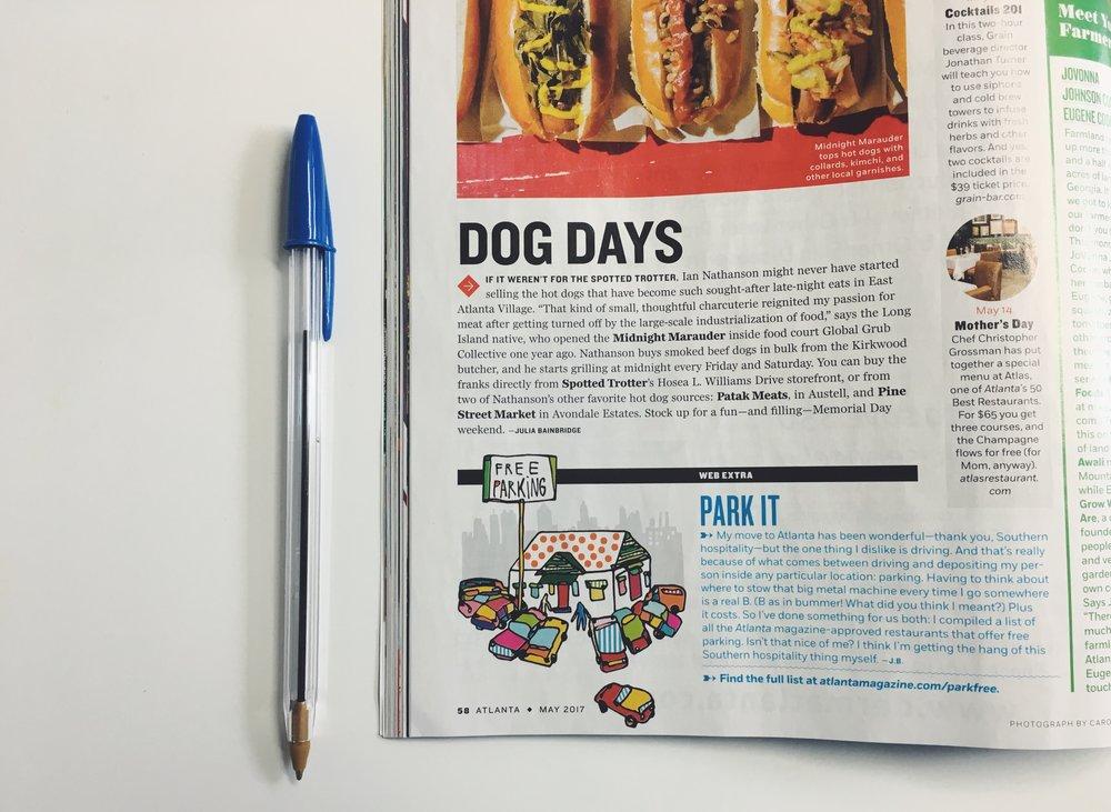 Atlanta Magazine, 2017