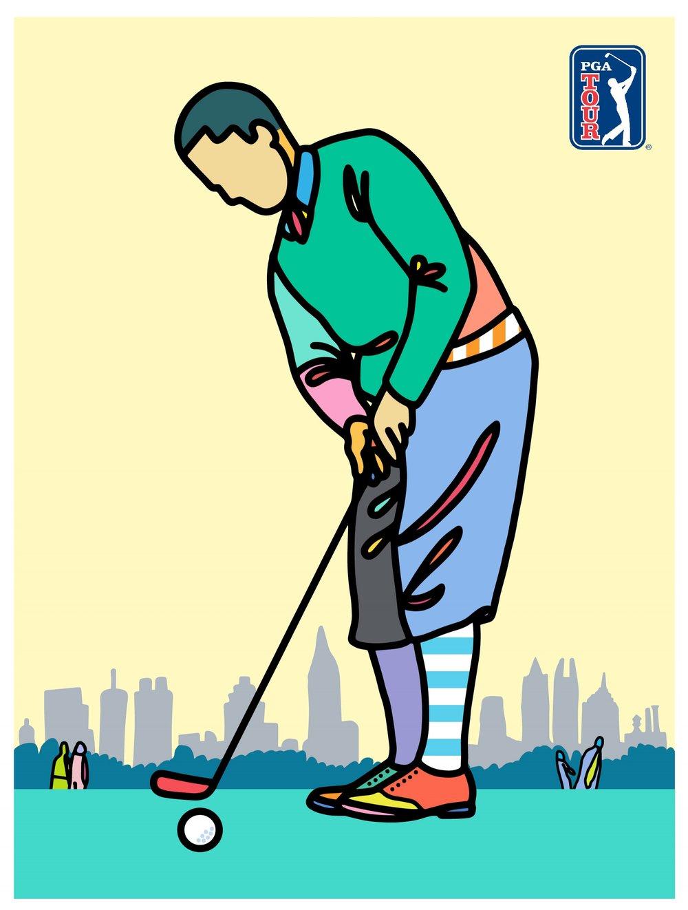 PGA Tour    # 4 , 2018   BUY PRINT