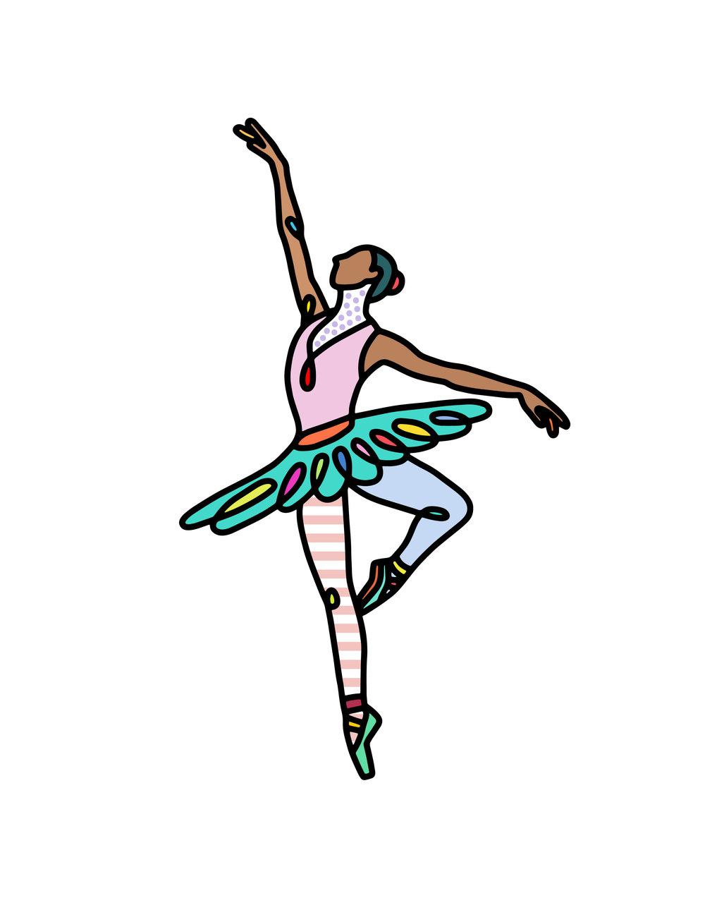 Ballerina, 2018   BUY PRINT