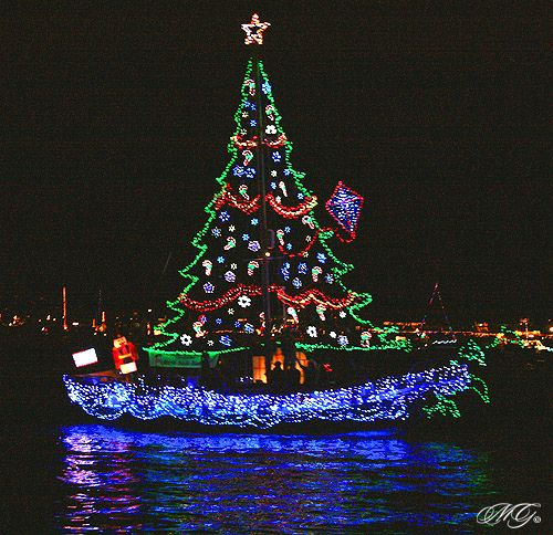Christmas Boat Decorations.Christmas On The Canals Lago Mar Civic League