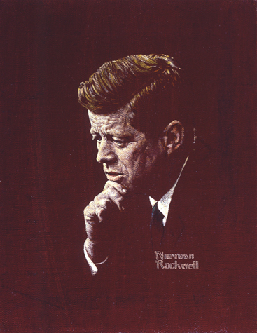 Norman Rockwell, Portrait of John F. Kennedy