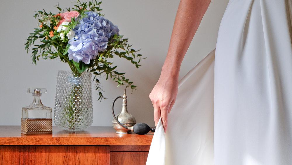 Lucie Fouquet robe Nadège en crêpe