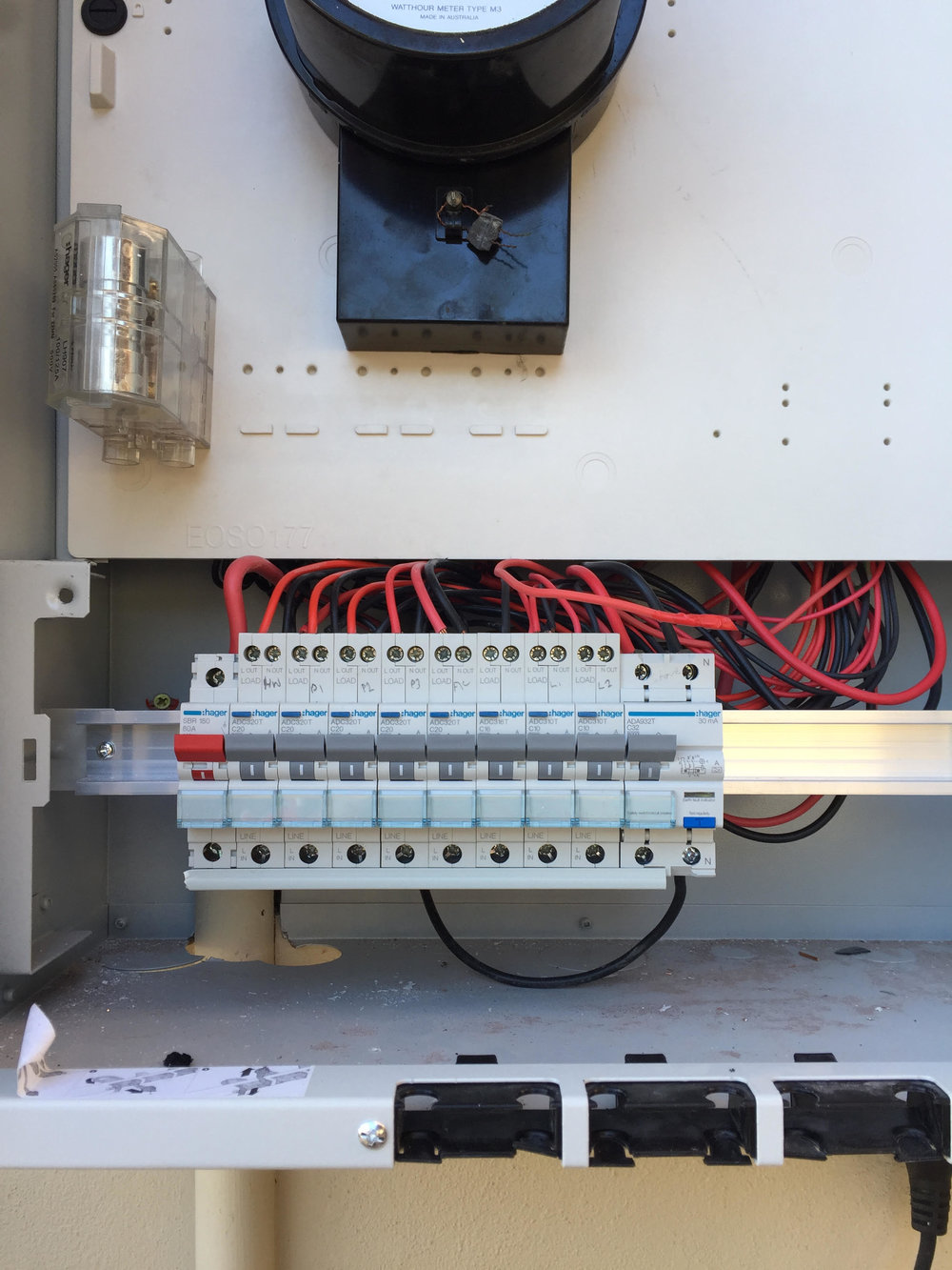 Safe Fuse Box Repairs Fusion Electrical Gold Coast Old Time New Switch Board Installed 1