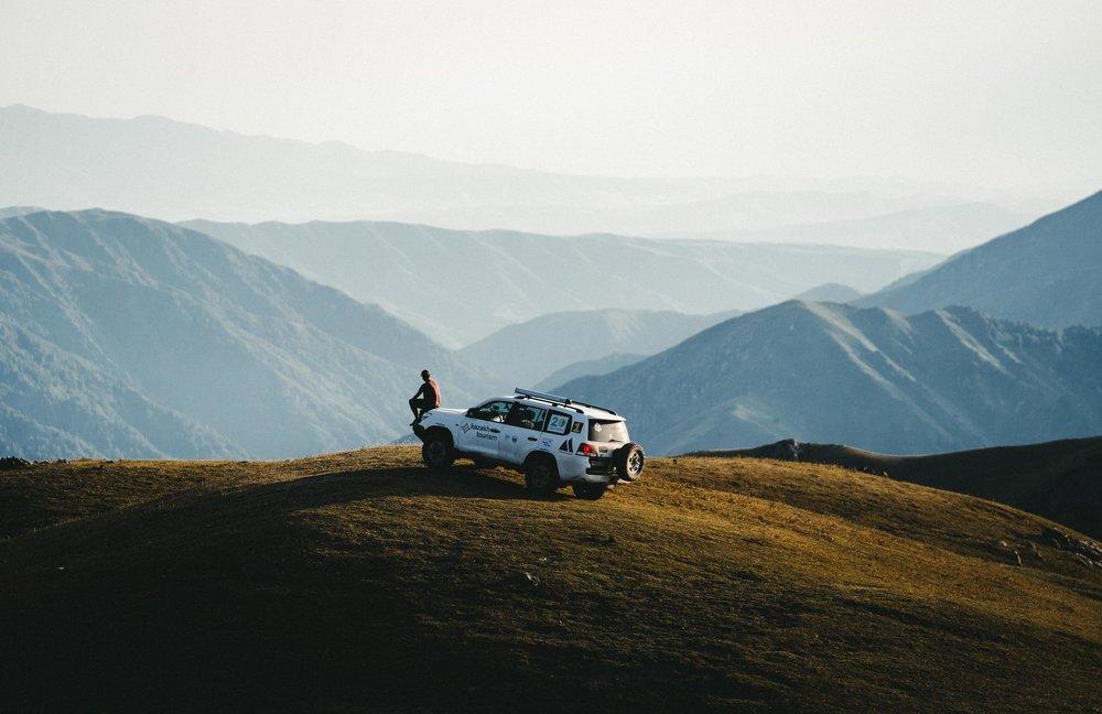 Kora Gorge area, Kazakstan.