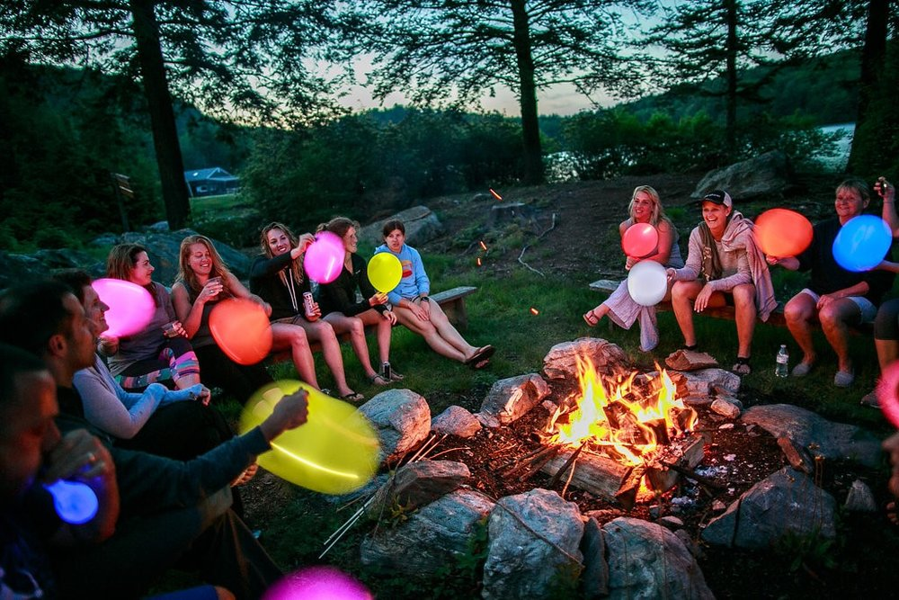 Glow-in-the-dark balloons are a surprisingly big hit with adults!