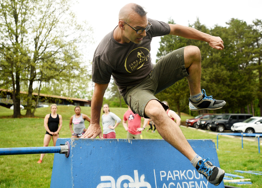 Mark Toorock - Primal Fitness and American Parkour