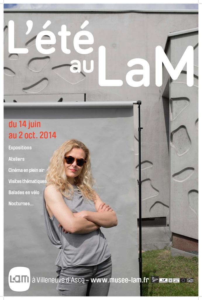 LAM, Villeneuve D'Ascq, 2014 Campagne pour le musée d'art contemporain.