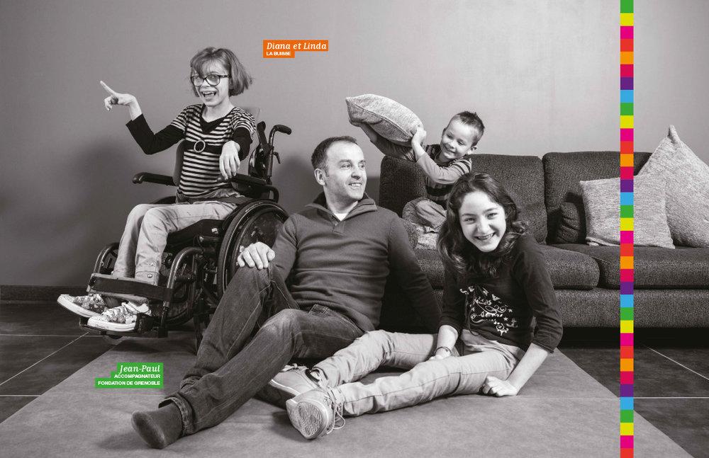Leroy-Merlin, 2014 Campagne pour la Fondation Leroy-Merlin contre l'handicap.