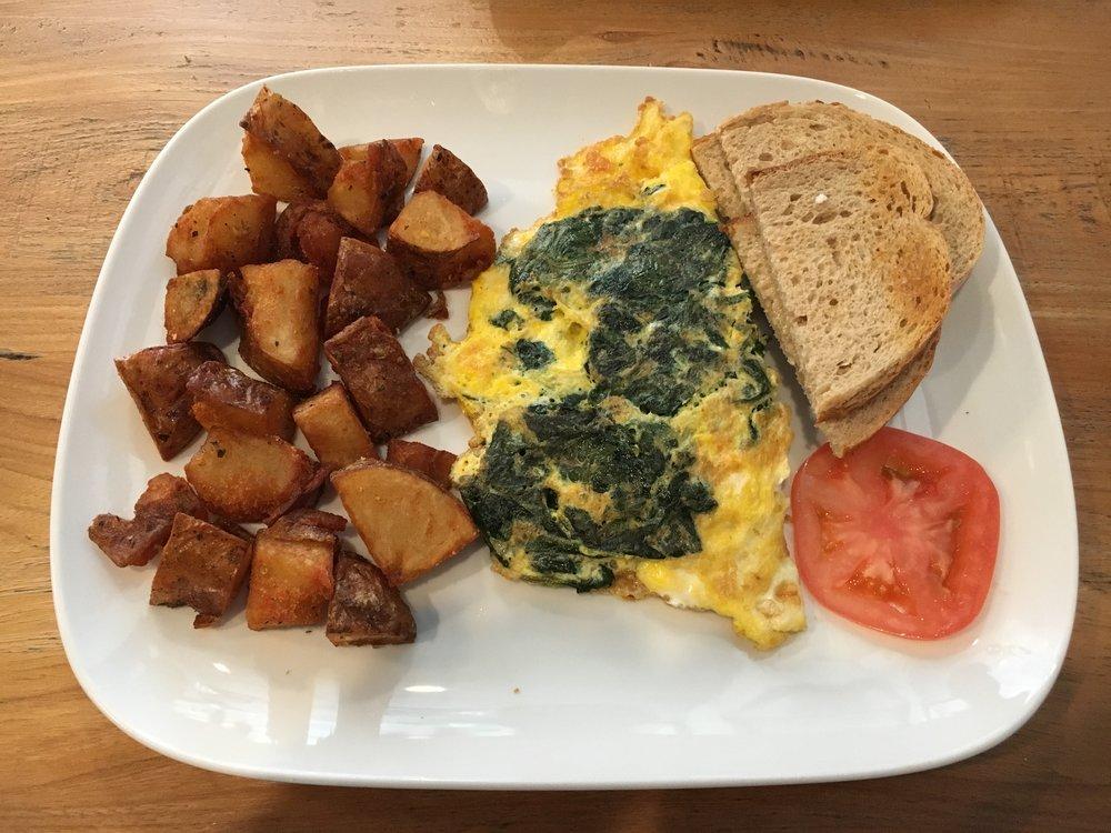Tatiana's pick: Spinach & Feta Omelette