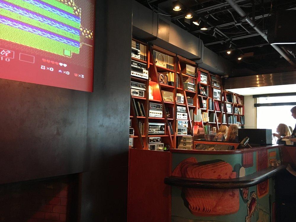 The Drake Hotel Interior Bookshelf
