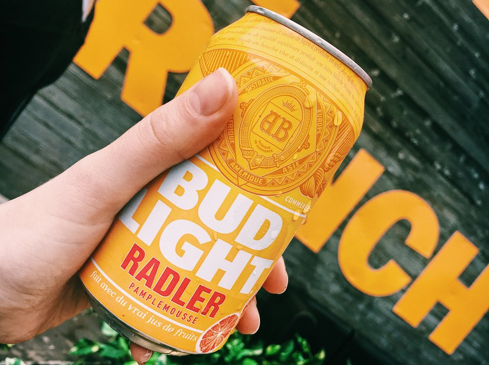 Toronto Brunch Festival Bud Light Radler