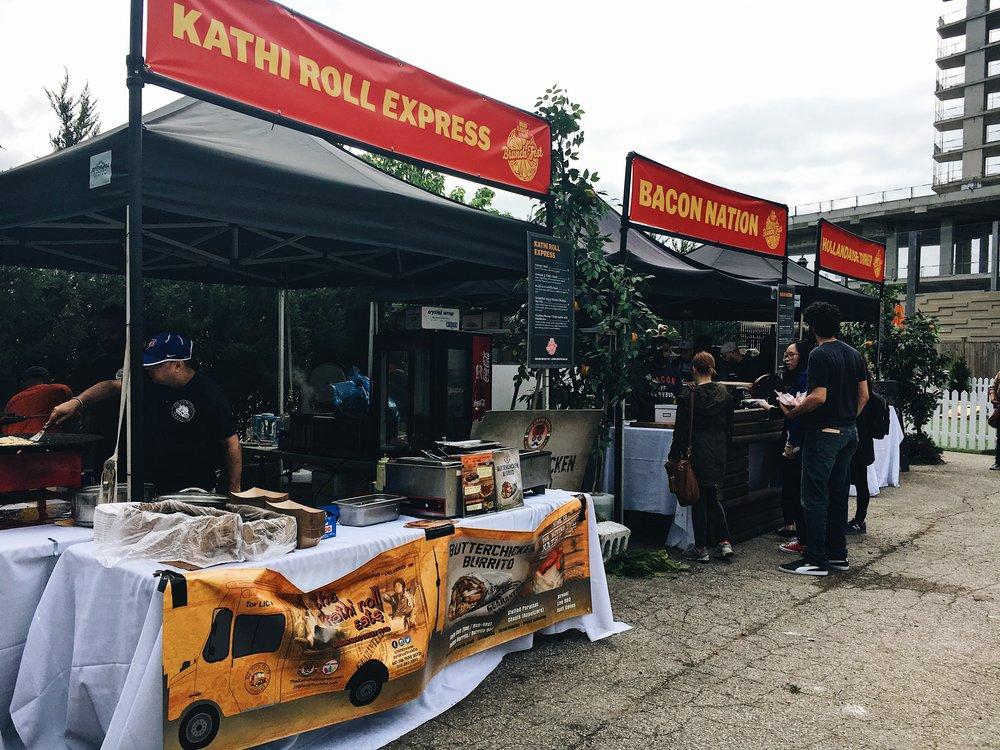 Brunch Fest Outdoor Stalls