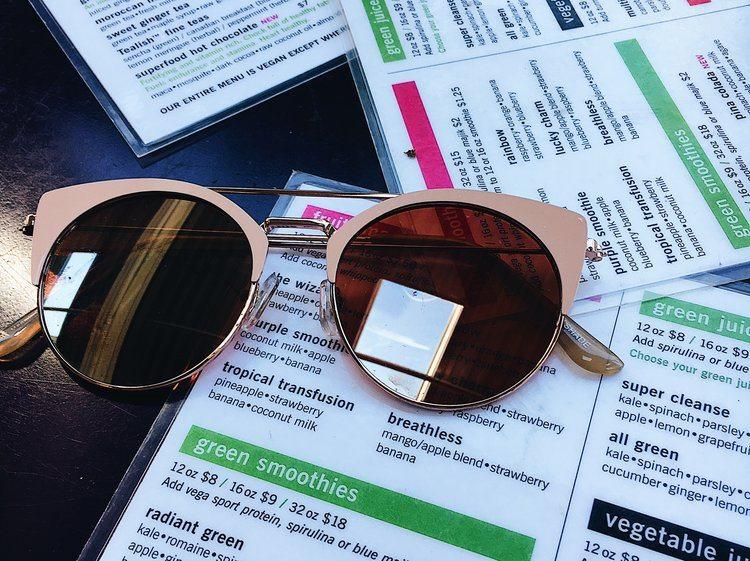 fresh crawford menu sunglasses