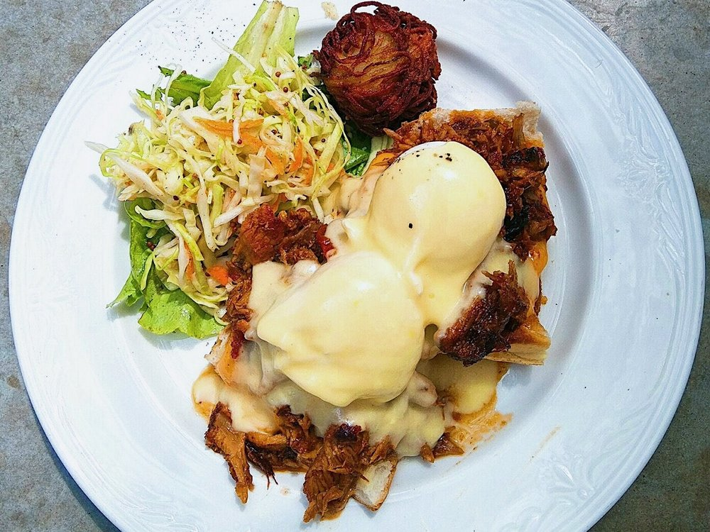 Jian's choice: Braised Rib Benny