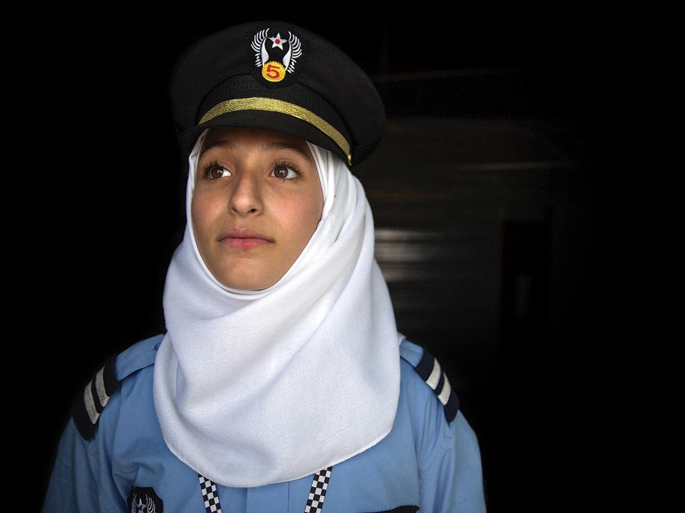 Malack, aged 16. Vision: future policewoman.