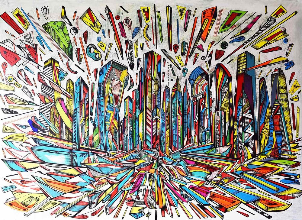 THE FLOW. Urban City Series by  MARKO GAVRILOVIC