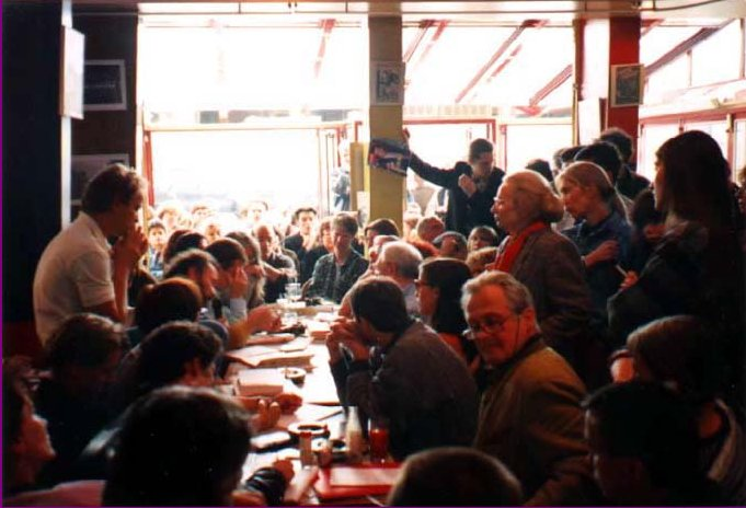 Marc Sautet at  Café des Phares  (Paris 1994)