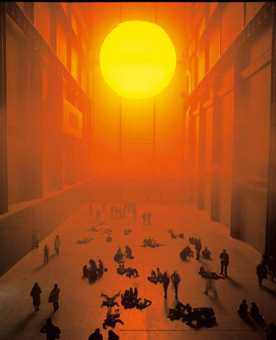 Olafur Eliasson - The Weather Project, 2003