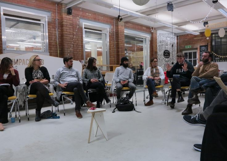 First PPB meeting at Impact Hub, Birmingham. Credit: Sunny Sangha