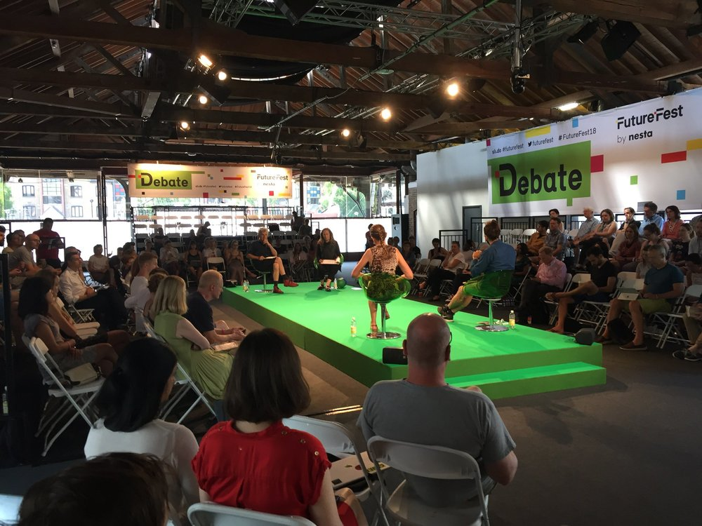 "A/UK hosting ""Is Politics Broken?"" at FutureFest"