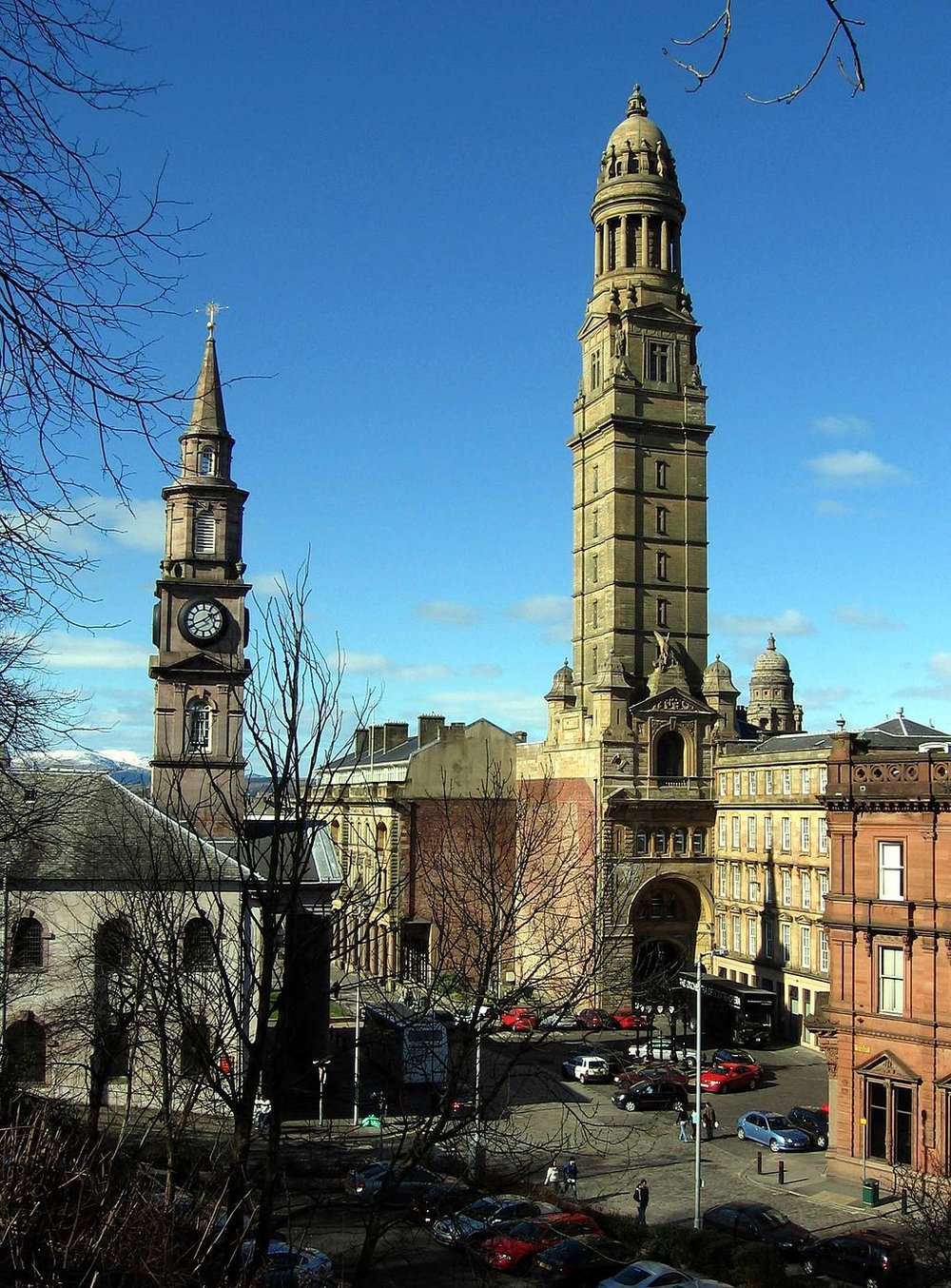 """Greenock - an """"ex-industrial, medium town"""", according to the Centre For Towns typology"""