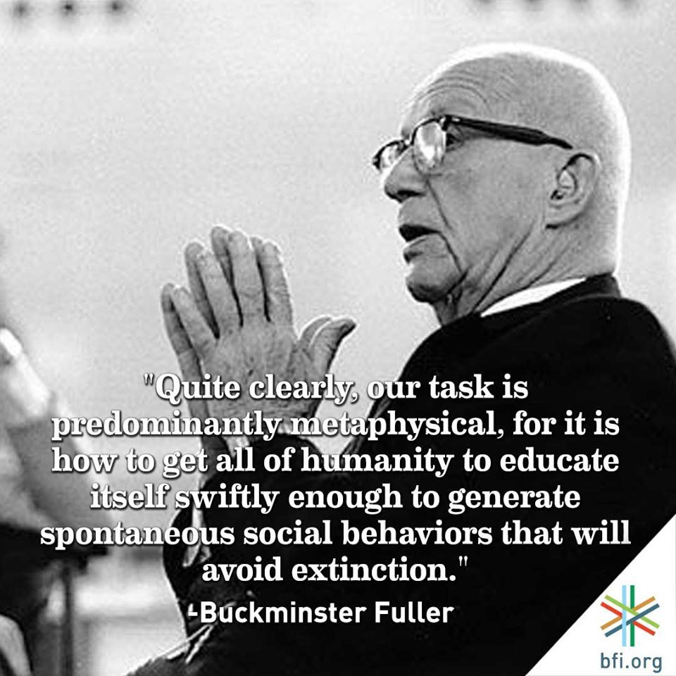 get inspired by buckminster fuller s quotes about education