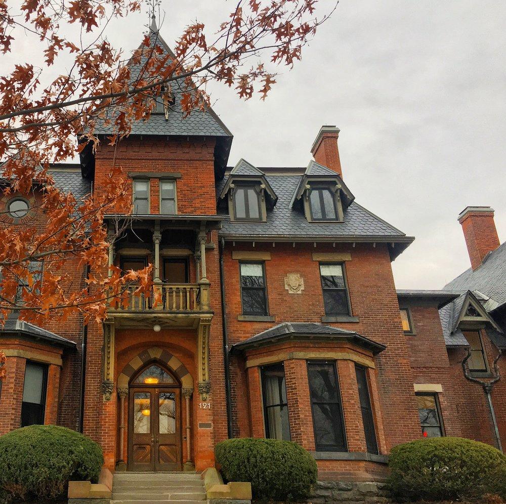 Andrew Dickson White House at Cornell University in Ithaca, New York