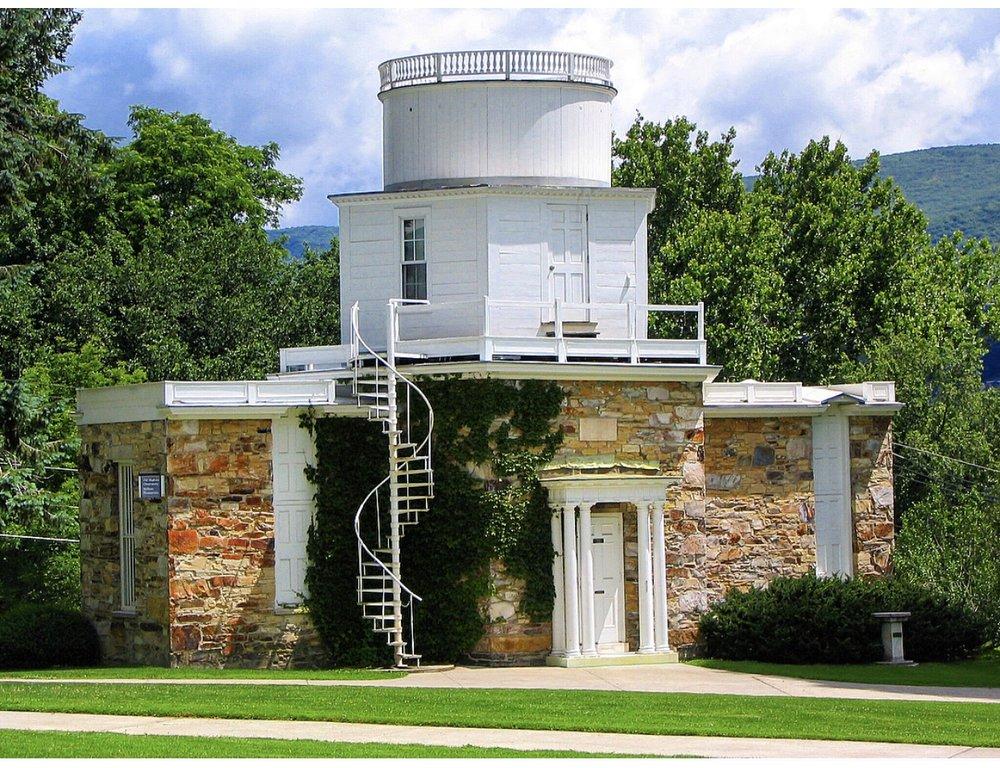 Hopkins Observatory in Williamstown, Massachusetts