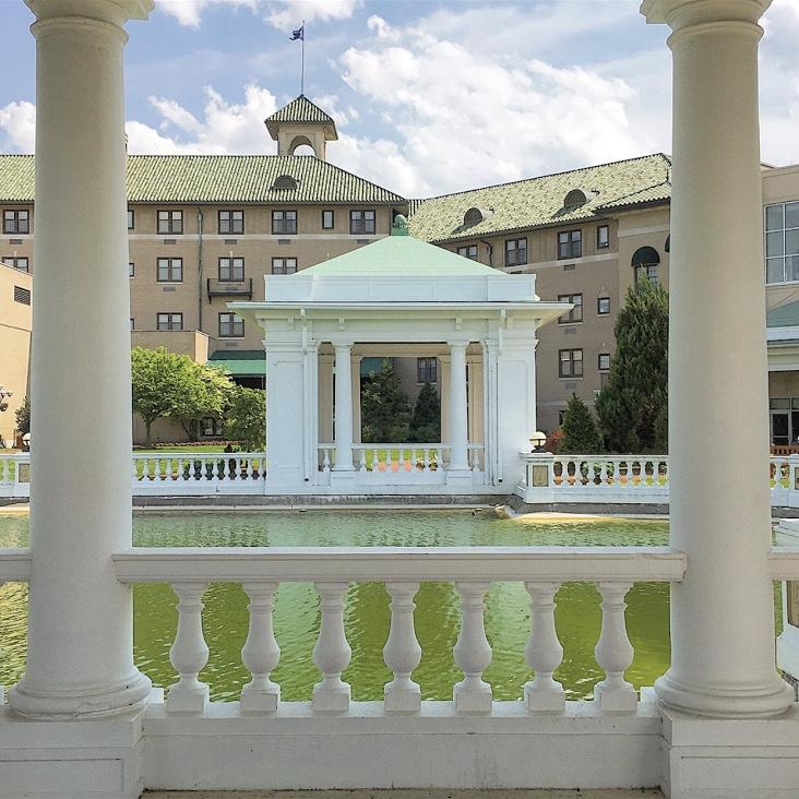 The Hotel Hershey in Hershey, Pennsylvania